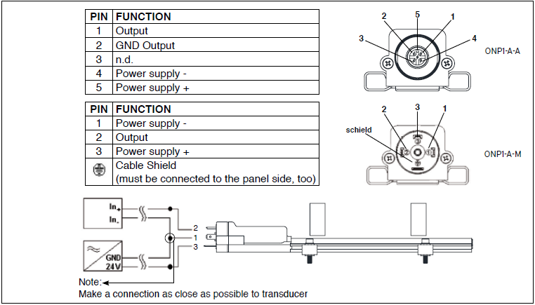 ONP1 A M_Electrical_connections sagatron shop gefran onp1 a m contactless magnetostrictive gefran pressure transducer wiring diagram at readyjetset.co