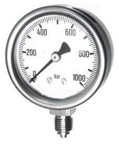 Pressure-gauge-for-the-chemical-industry