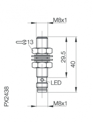 SAGATRON-SHOP - Balluff Induktiver Sensor BES M08EE-PSC20B-S49G on bourns wiring diagram, toshiba wiring diagram, panasonic wiring diagram, general electric wiring diagram, enerpac wiring diagram, atlas copco wiring diagram, dayton wiring diagram, siemens wiring diagram, fisher wiring diagram, emerson wiring diagram, square d wiring diagram, sony wiring diagram, bosch wiring diagram, bendix wiring diagram, mitsubishi wiring diagram, smc wiring diagram, durant wiring diagram, amphenol wiring diagram, danfoss wiring diagram, alpha wiring diagram,